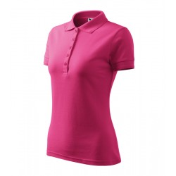 Pink női galléros poló