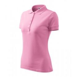 Rózsaszín női galléros poló