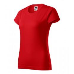 Piros basic női poló