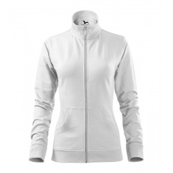 Fehér női állónyakú pulóver...